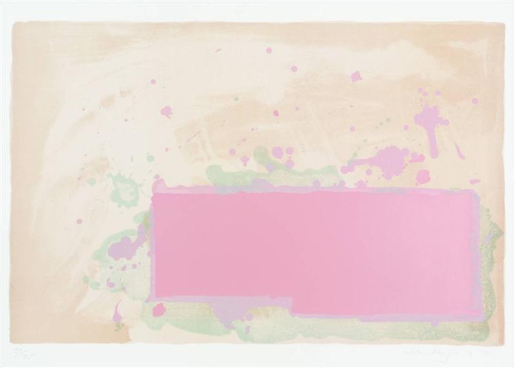 Orange-Pink-Green, 1971 - John Hoyland