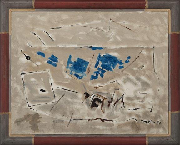 Autumn Coloring No. 4, 1952 - John Marin