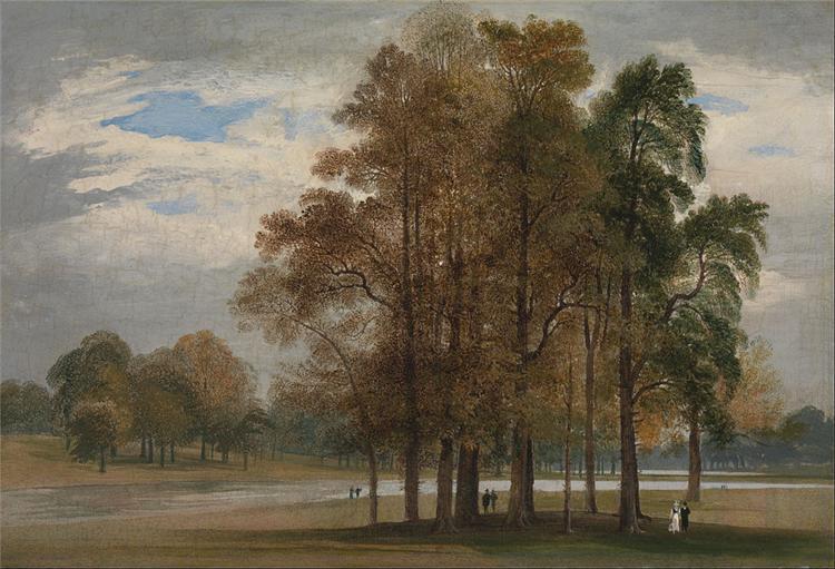 Hyde Park, 1815 - John Martin