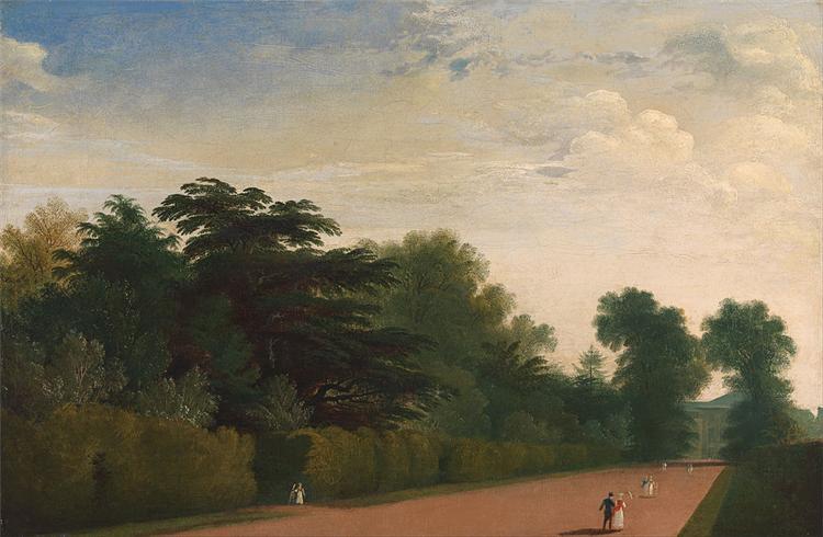 Kensington Gardens, 1815 - John Martin