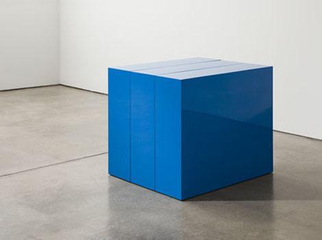 Blue Block in Three Parts, 1966 - John McCracken