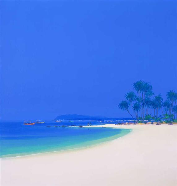 Tropical Beach - John Miller