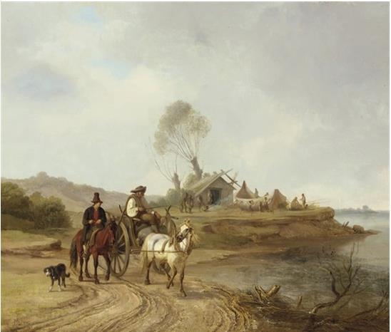 The shipbuilder's cart - Джон О'Коннор