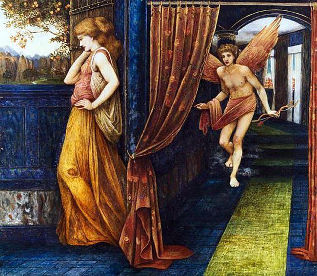 Cupid and Psyche, c.1880 - John Roddam Spencer Stanhope
