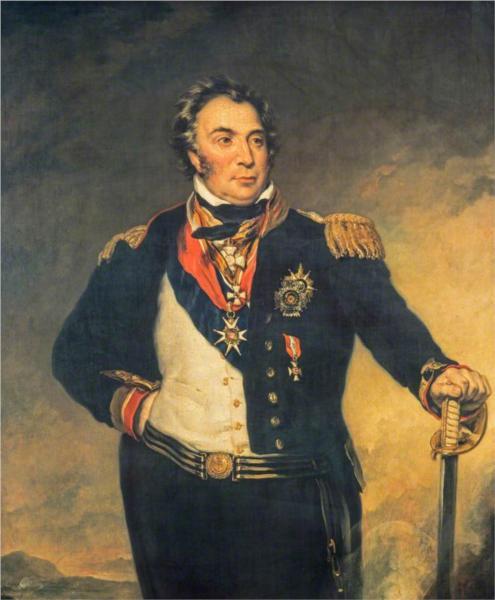 Sir Charles Napier, Admiral, 1841 - John Simpson