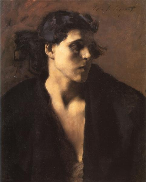 A Spanish Woman, c.1879 - c.1882 - John Singer Sargent