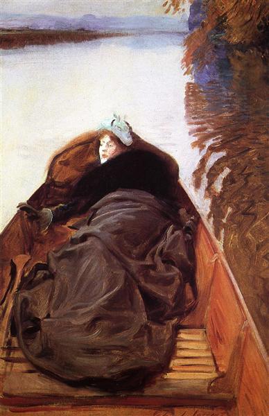 Autumn on the River, 1889 - John Singer Sargent