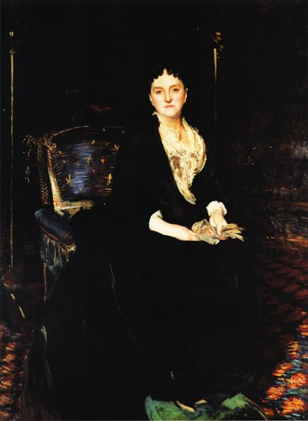 Mrs. William Henry Vanderbilt, 1888 - Джон Сінгер Сарджент