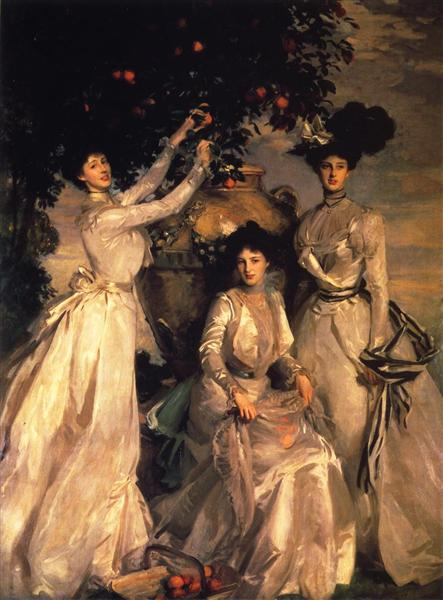 The Acheson Sisters - John Singer Sargent