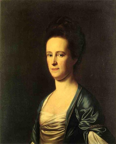 Mrs. Elizabeth Coffin Amory, 1775 - John Singleton Copley
