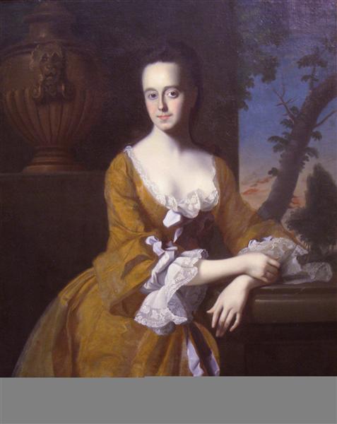 Mrs.John Murray (Lucretia Chandler), 1763 - John Singleton Copley
