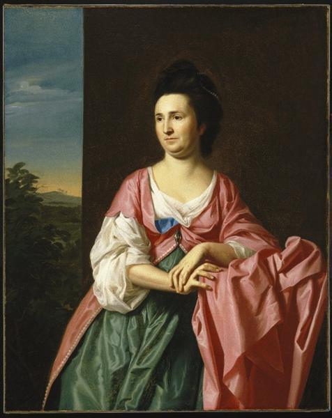 Mrs.William Eppes, 1769 - John Singleton Copley