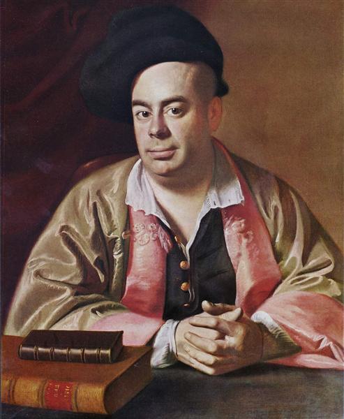 Portrait of Nathaniel Hurd, 1765 - 1766 - John Singleton Copley