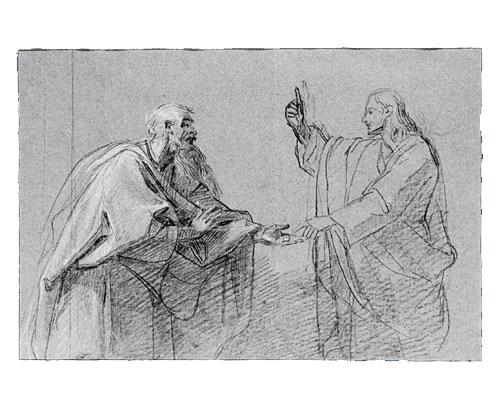 Study for The Tribute Money, 1782 - John Singleton Copley