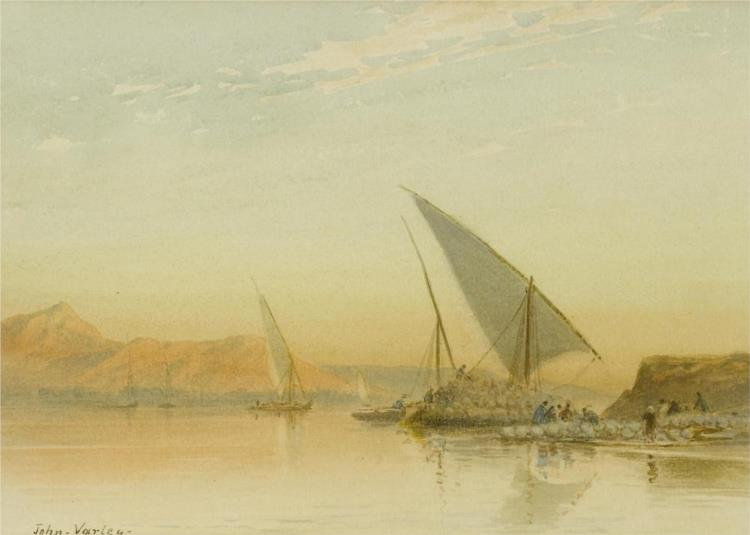 On the Nile at Keneh - John Varley II