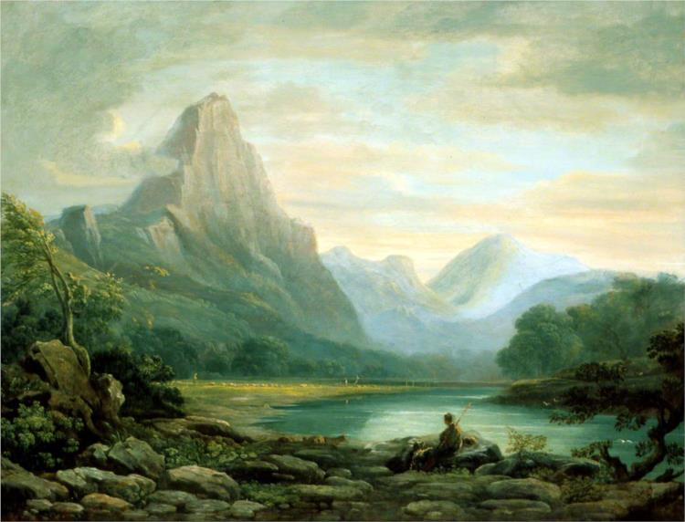 A Welsh Valley - John Varley