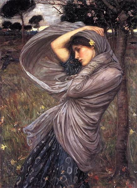 Boreas, 1903 - John William Waterhouse