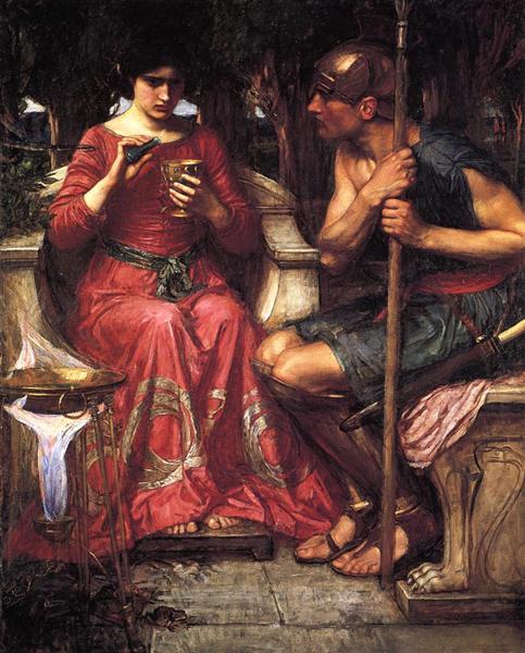 Jason and Medea, 1907 - John William Waterhouse