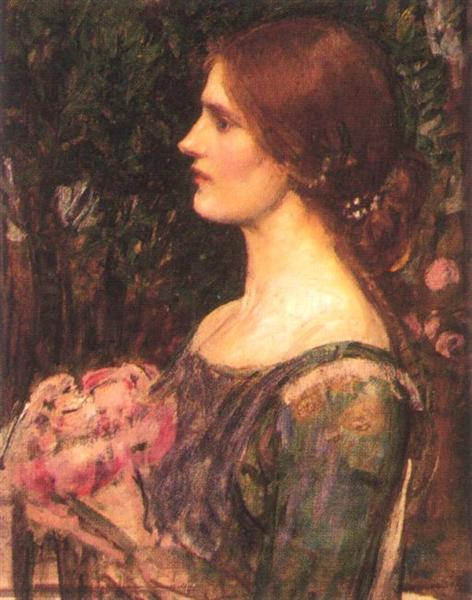 The Bouquet, c.1908 - John William Waterhouse - WikiArt.org