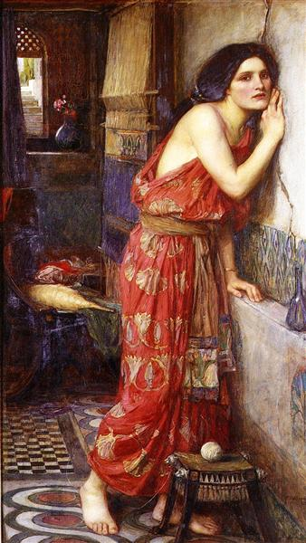 Thisbe, 1909 - John William Waterhouse