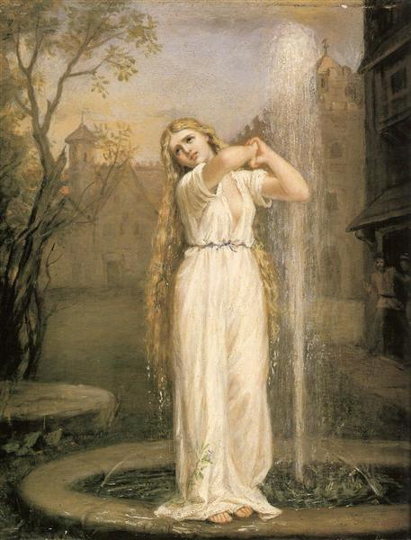 Undine, 1872 - John William Waterhouse