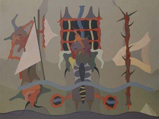 Voyage sur le Nil, 1988 - Jorge Camacho