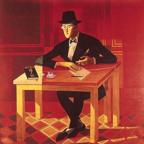 Portrait of Fernando Pessoa, 1954 - José de Almada Negreiros