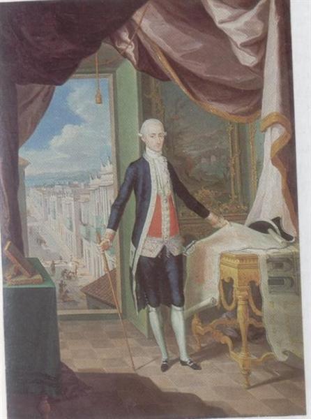 Retrato del Governador don Miguel Antonio de Ustáriz, 1790 - José Campeche