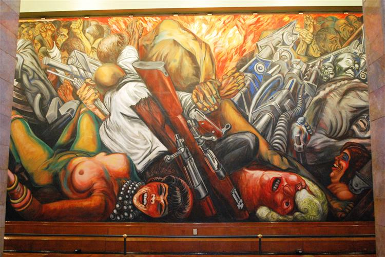 Catharsis, 1934 - José Clemente Orozco