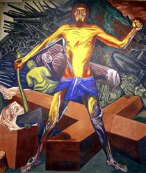 Modern Migration of the Spirit - The Epic of American Civilization - Jose Clemente Orozco