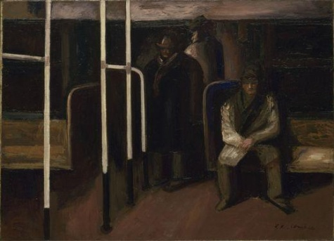 The Subway, 1928 - José Clemente Orozco