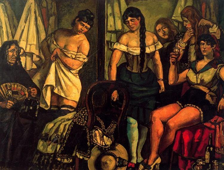 Claudia Girls, 1929 - Jose Gutierrez Solana