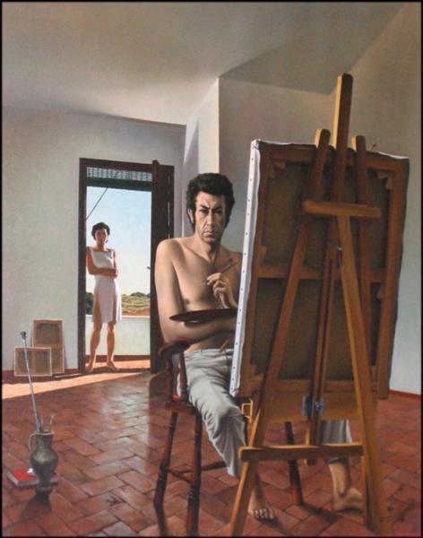 Self-Portrait - Jose Manuel Capuletti