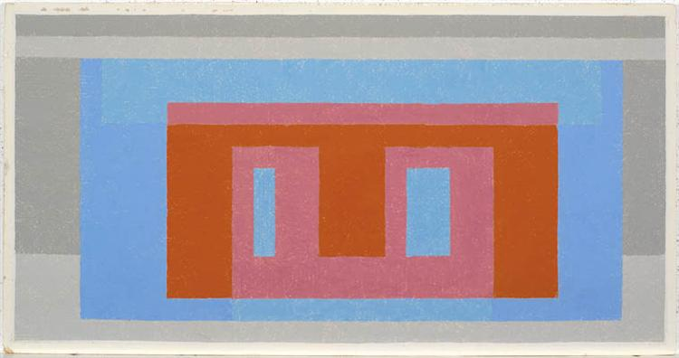 Adobe (Variant): Luminous Day, 1947 - 1952 - Josef Albers