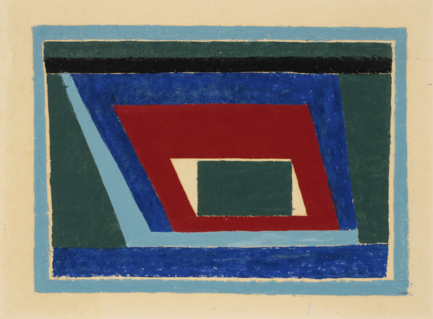 Untitled Abstraction (Mantic), 1940