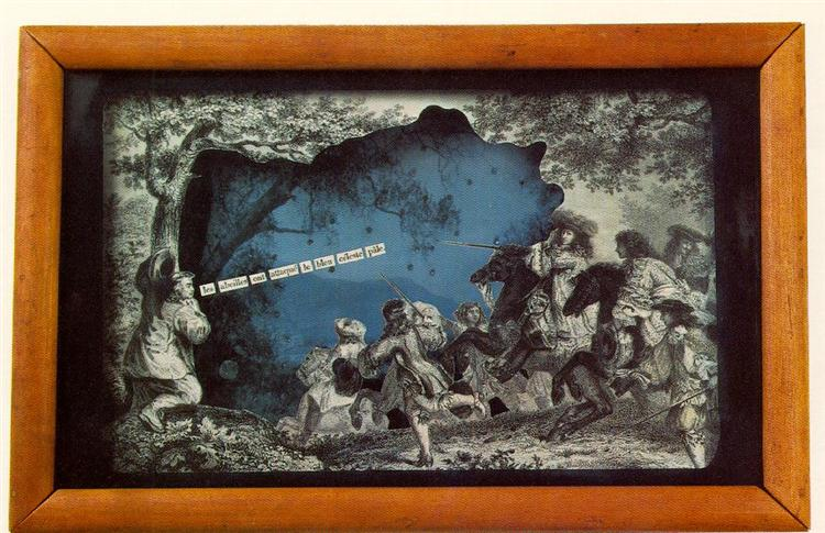 Object (Abeilles), 1940 - Joseph Cornell