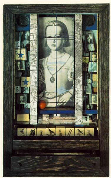 Untitled (Medici Princess), 1948 - Joseph Cornell