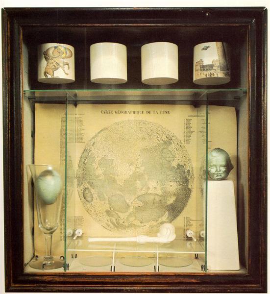 Untitled (Soap Bubble Set), 1936 - Joseph Cornell