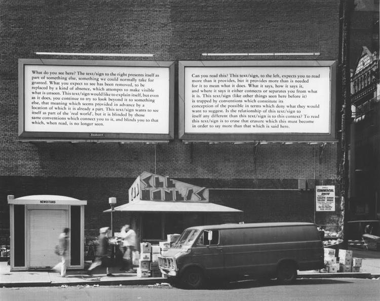 Text-Context, 1979 - Joseph Kosuth