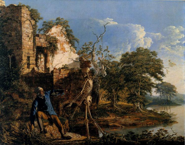 The Old Man and Death, 1774 - Joseph Wright