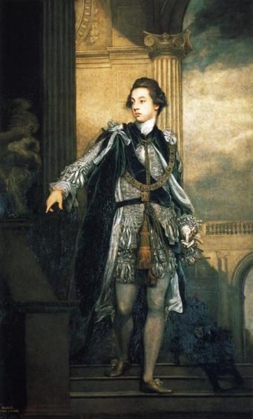 Frederick Howard, 5th Earl of Carlisle, 1769 - Joshua Reynolds