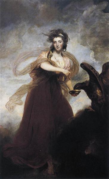 Mrs. Musters as 'Hebe', 1785 - Joshua Reynolds