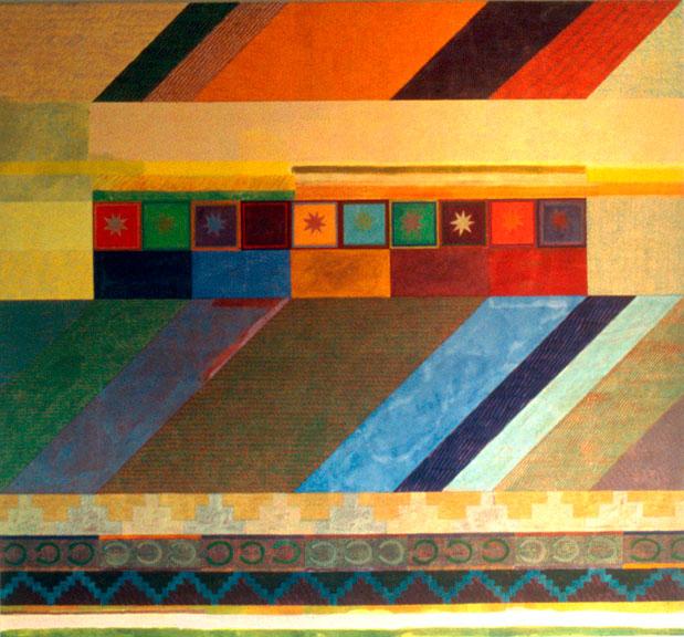 Magic Carpet Ride, 1973 - Joyce Kozloff