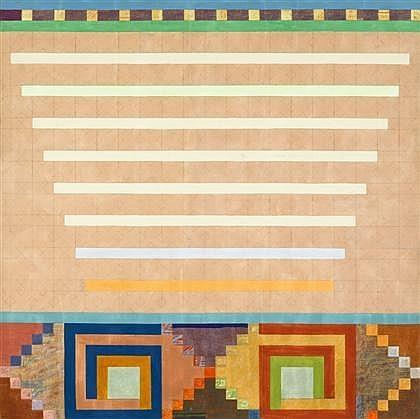 Notions of Finish: Frieze I, 1974 - Joyce Kozloff