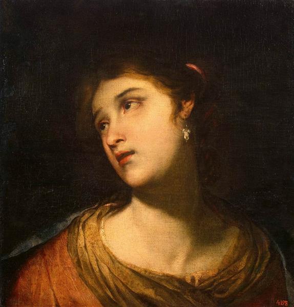 Head of a Woman, c.1658 - Juan de Valdés Leal