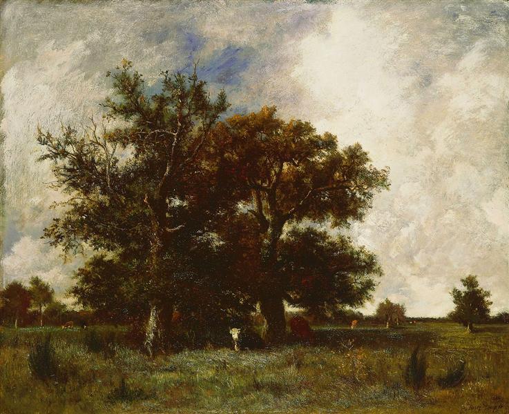 Fontainebleau Oaks, 1840 - Jules Dupre