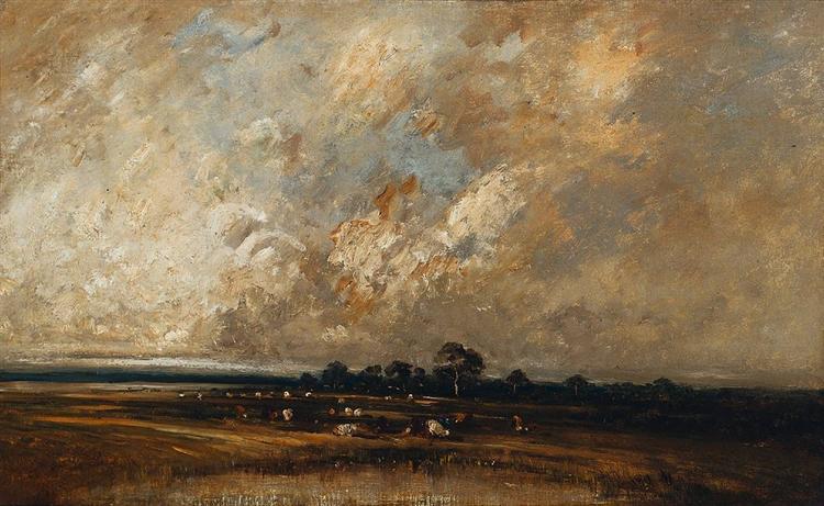 Landscape, 1870 - Jules Dupre