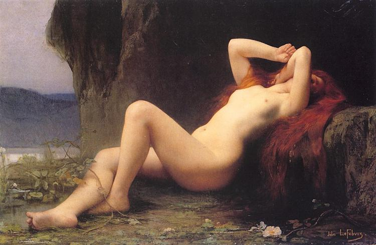 Mary Magdalene In The Cave, 1876 - Jules Joseph Lefebvre