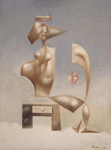 A Surrealistic Composition, 1969 - Jules Perahim