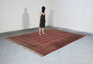 Film Noir (with carpet) (genérico 21), 2007 - Juliao Sarmento